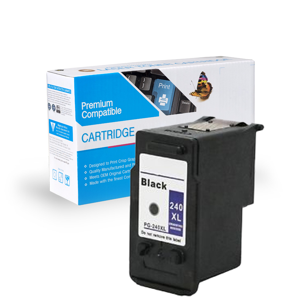Canon Remanufactured  PG-240, PG-240XL, 5204B001, 5206B001