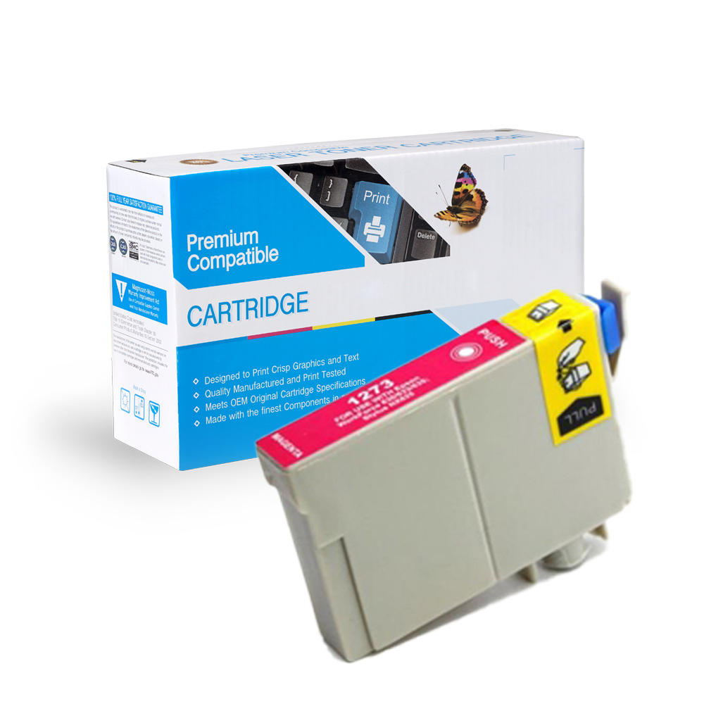 Epson 127 (T127320) Remanufactured Magenta Extra High-Yield Ink Cartridge
