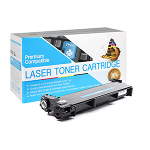 Brother TN660 Compatible High Yield Black Toner Cartridge