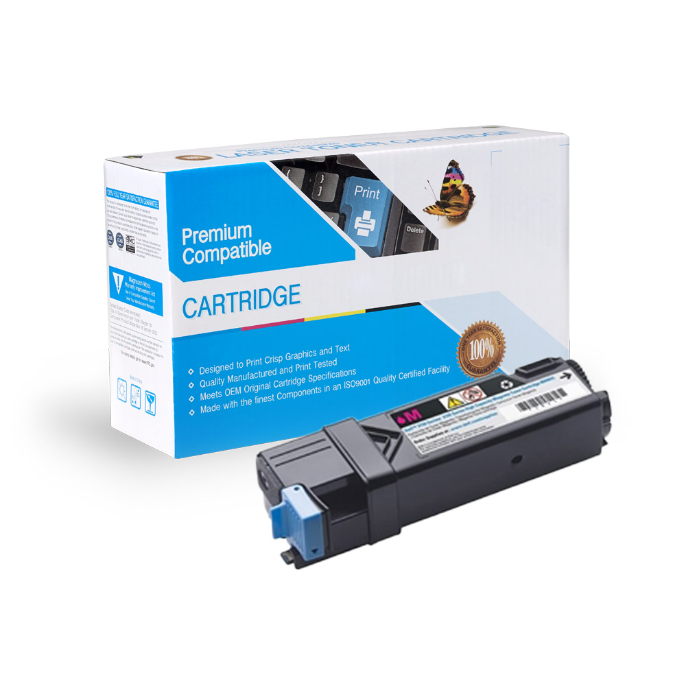 Dell 331-0717 Compatible Magenta Toner Cartridge