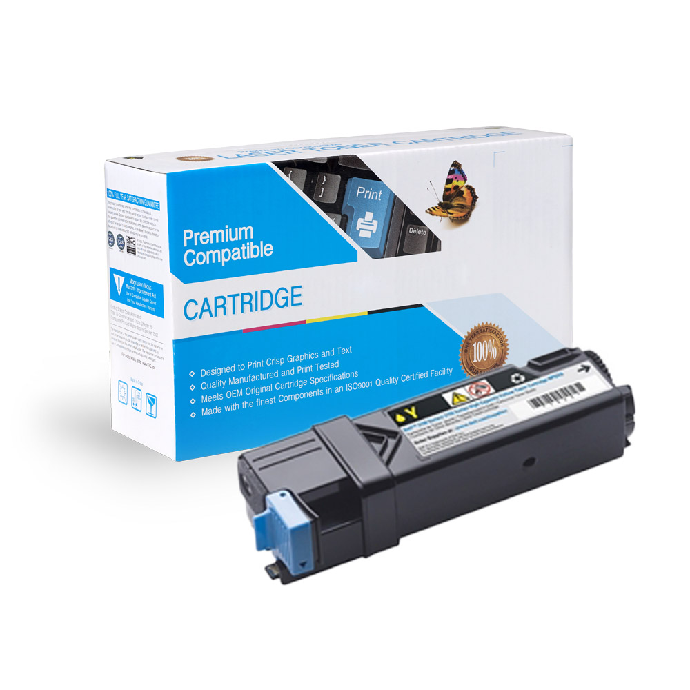 Dell 2150 / 2155 Yellow Toner Cartridge