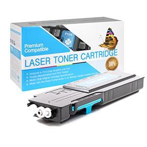 Dell 593-BBBT Compatible Cyan Toner Cartridge