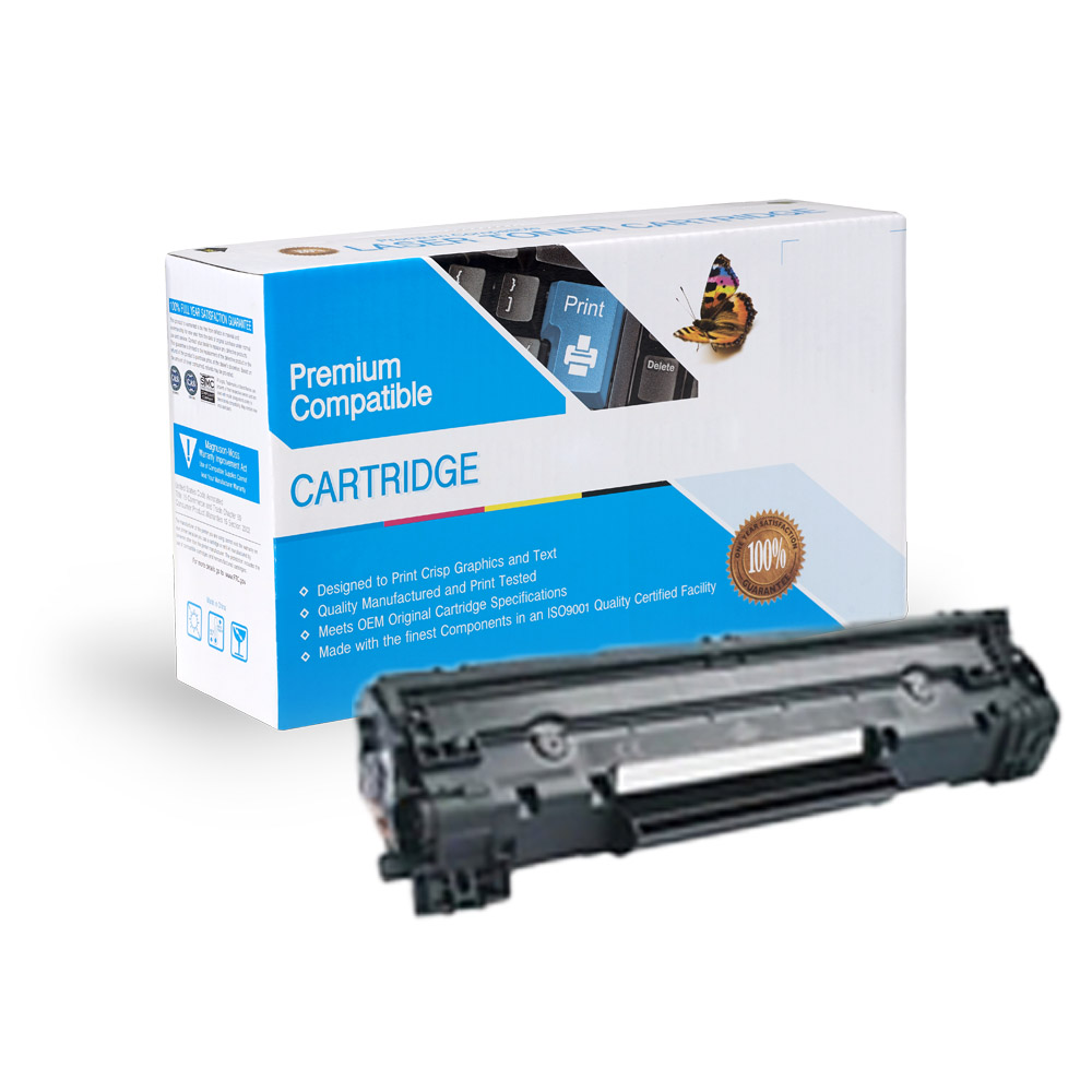 Canon 3483B001 (126) Compatible Black Toner Cartridge